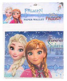 Disney Frozen Paper Wallet - Blue