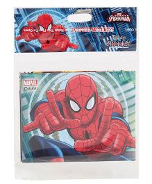 Marvel Spiderman Paper Wallet - Multicolor
