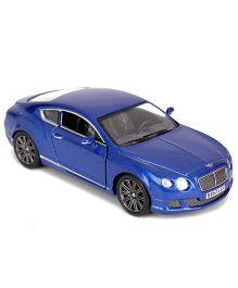 Kinsmart Die Cast Pull Back Bentley Continental Model Car Toy - Blue