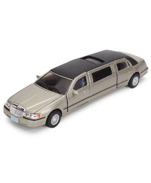 Kinsmart Lincon Stretch Limousine Model - Silver