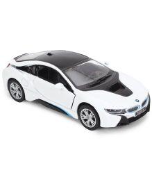 Kinsmart BMW I 8 Model - White