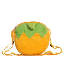 Hello Toys Fruit Shaped Sling Bag Yellow - 7 Inches
