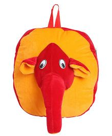 Hello Toys Elephant Soft Bag Red Yellow - 15 Inches