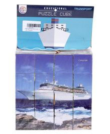 Ratnas Cruise Picture Puzzle Cube - Color