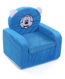 Lovely Smart Mickey Mouse Patch Kids Sofa - Blue