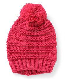 Pumpkin Patch Winter Cap - Pink