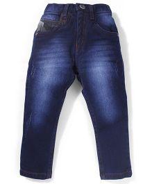 Gini & Jony Full Length Denim Jeans - Deep Blue