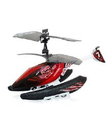 Silverlit Remote Controlled Hydrocopter - Red Black