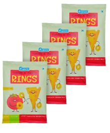 Pinata Tomato and Cheese Rings Pack of 4 - 20 grams Each