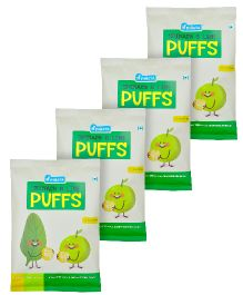 Pinata Spinach And Lime Puffs Pack of 4 - 20 grams Each