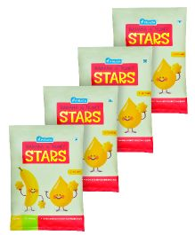 Pinata Banana And Honey Stars Pack of 4 - 20 grams Each
