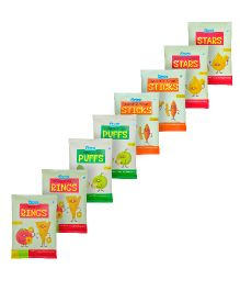 Pinata Mix Flavors Pack Of 8 - 20 grams Each
