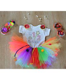 TU Ti TU Yummy Candyland Half Birthday Outfit - Multicolour