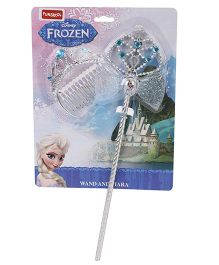 Disney Frozen Funskool Tiara With Wand - Silver Blue