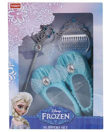 Disney Frozen Funskool Magic Slippers Set - Blue