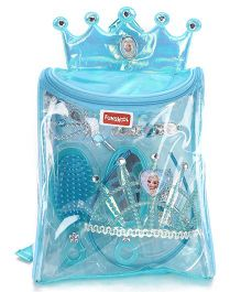 Disney Frozen Funskool Accessory Backpack Blue - 7 Pieces