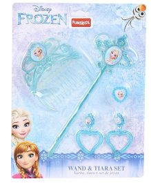 Disney Frozen Funskool Wand & Tiara Set Blue - 5 Pieces