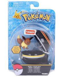 Pokemon Funskool Clip n Carry Poke Ball - Black