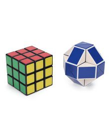 Rubik's Duo Retro Cube Multicolor - 1 Piece