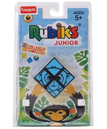 Rubik's New Jr Small - Blue & Yellow