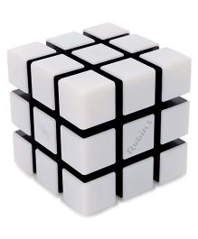 Rubik's Cube Funskool Spark - White And Black