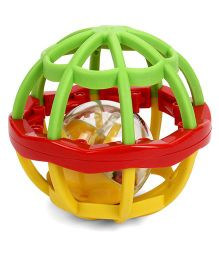 Mee Mee Colorful Mesh Ball - Green Red Yellow