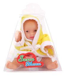 Speedage Baby Doll Yellow - Height 10 cm