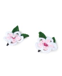 Treasure Trove Crochet Flower Tic Tac - Baby Pink