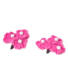 Treasure Trove Crochet Flower Tic Tac - Magenta
