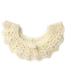 Buttercup From KnittingNani Crochet Collar - Off White