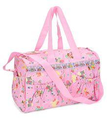 Mee Mee Mother Bag Animal Print - Pink
