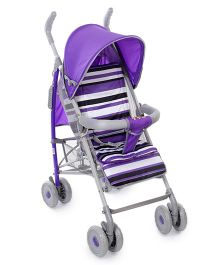 Lightweight Stroller With Canopy - Purple