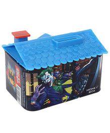 DC Comics Batman House Shaped Coin Bank - Blue