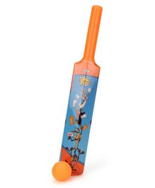 Looney Tunes Bat And Ball Set - Blue Orange