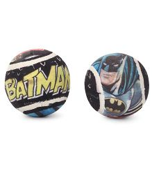 DC Comics Batman Tennis Ball Black - Pack Of 2