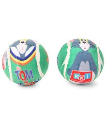 Tom And Jerry Tennis Ball Multicolor - Pack Of 2