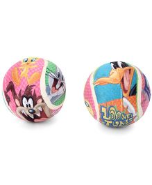 Looney Tunes Tennis Ball Multicolor - Pack Of 2