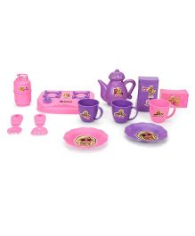 Barbie My First Kitchen Set Pink Purple - 12 Pieces