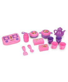 Barbie My First Kitchen Set Pink Purple - 13 Pieces