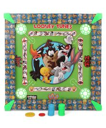 Looney Tunes Carrom Board - Green