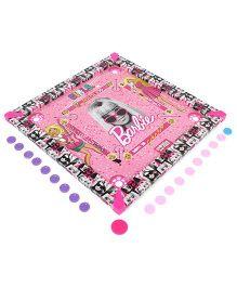 Barbie Carrom Board - Pink