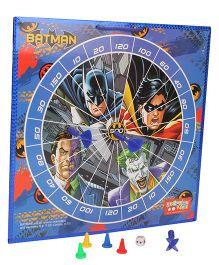 DC Comics Batman 2 In 1 Magnetic Dart Board And Game - Multicolor