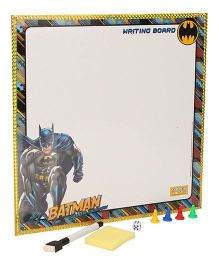 DC Comics Batman 2 in 1 Writing Board And Game - Multicolor