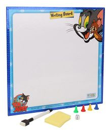 Tom And Jerry 2 in 1 Writing Board And Game - Blue