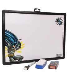 Batman 2 in 1 Writing Board - Black