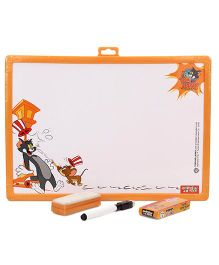 Tom And Jerry 2 in 1 Writing Board - Black