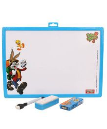 Looney Tunes 2 in 1 Writing Board - Blue