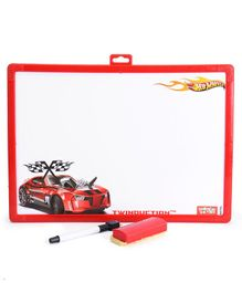 Hot Wheels 2 in 1 Writing Board - Blue