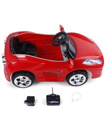 Battery Operated Super Children Ride-On Car With Remote Control - Red