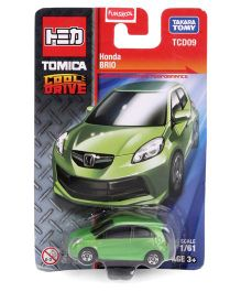 Tomica Funskool Cool Drive Honda Brio Toy Car - Green